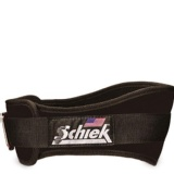 Schiek Workout Belt 6 Inch,  Black  Xtra Large
