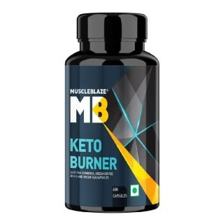 MuscleBlaze Keto Burner Fat Loss Supplement,  60 capsules  Unflavoured